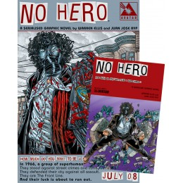 No Hero #1 Signed Poster Edition