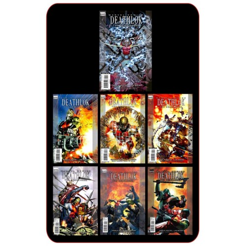 Deathlok Vol 4 Complete Set