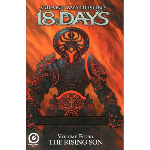 Grant Morrison's 18 Days Vol 4: The Rising Son TPB (Graphic India)