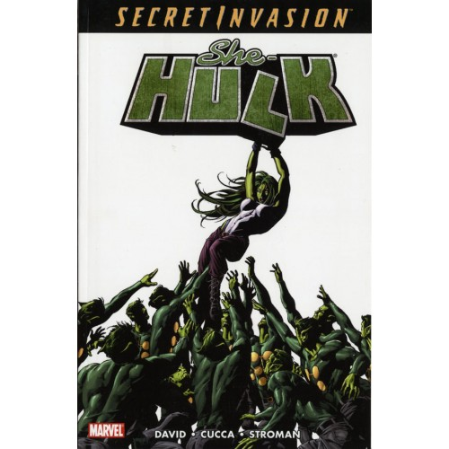 Secret Invasion She-Hulk Vol 8 TPB (Marvel)
