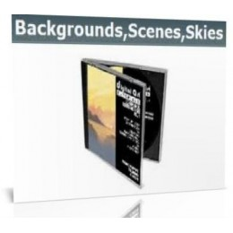 Digital Art Tutorials Backgrounds, scenes and skies Vol 1
