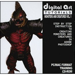 Digital Art Tutorials Monsters and Creatures Vol 1