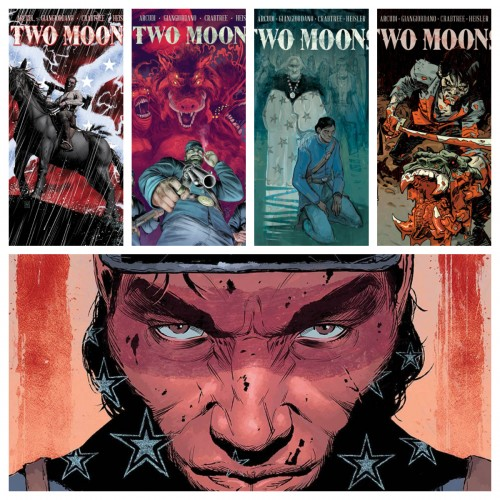 TWO MOONS VOLUME 1 (#1-5) SET (DIFFERENT COVERS)