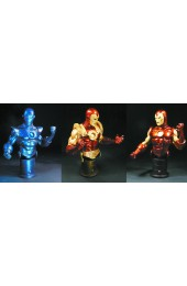 Invincible Iron Man Mini-Bust 3-Pack
