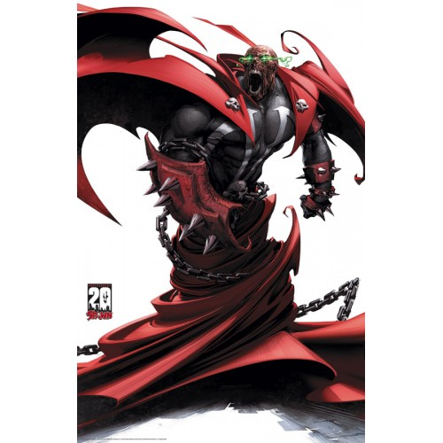 Spawn 20Th Anniversary Poster # 4 Of 4