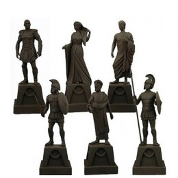 Clash of the Titans Figurines of the Gods Prop