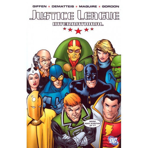 Justice League International Vol 1 TP