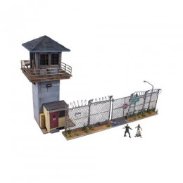 The Walking Dead Prison Tower & Gate Building Set