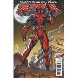 Deadpool #33 Jim Lee Trading Card Variant Covers