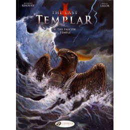 The Last Templar Vol 4: The Falcon Empire TPB (Cinebook)