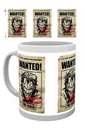 Joker Wanted Mug