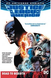 Justice League of America Rebirth: The Road to Rebirth TPB (DC)