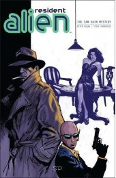 Resident Alien Vol 3: The Sam Hain Mystery TPB (Dark Horse)