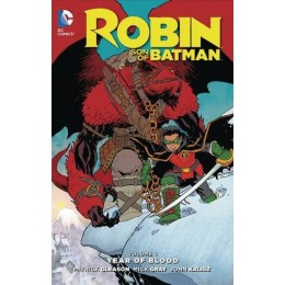 Robin Son of Batman Vol 1: The Year of Blood HC (DC)