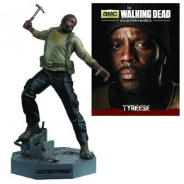 The Walking Dead Tyreese Figure with Collector Magazine #6