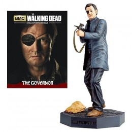 The Walking Dead The Governor Figure with Collector Magazine #3
