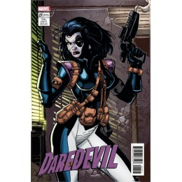 Daredevil #23 Jim Lee Trading Card Variant Covers