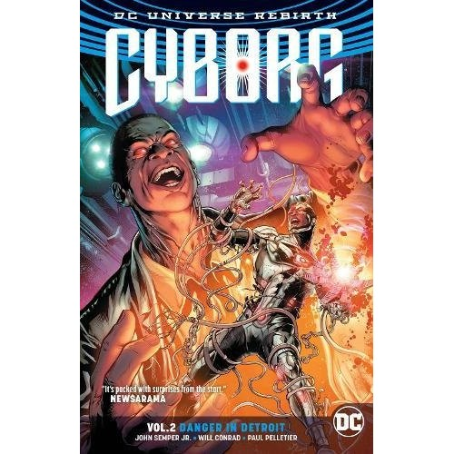 Cyborg Rebirth Vol 2: Danger in Detroit TPB (DC)
