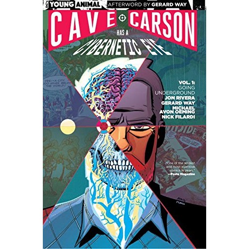 Cave Carson Has a Cybernetic Eye Vol 1: Going Underground TPB (DC)