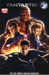 Fantastic Four: The Official Movie Adaptation TPB (Marvel)