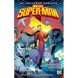 New Super-Man Rebirth Vol 1: Made In China TPB (DC)