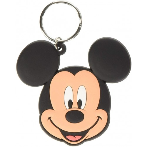 Disney Classic Mickey Mouse Rubber Keychain