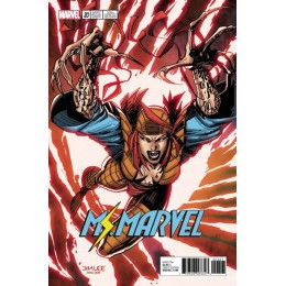 Ms. Marvel #20 Jim Lee Trading Card Variant Covers