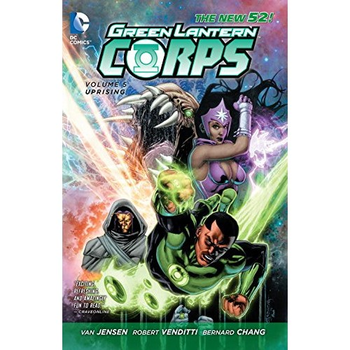Green Lantern Corps: Uprising Vol 5 TP (The New 52!)