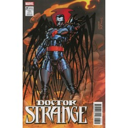 Doctor Strange #23 Jim Lee Trading Card Variant Covers