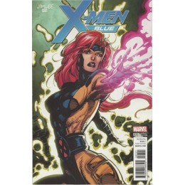 X-Men Blue #7 Jim Lee Trading Card Variant Covers
