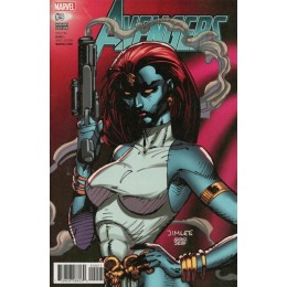 Avengers #9 Jim Lee Trading Card Variant Covers