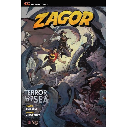 Zagor: Terror from the Sea TPB (Epicenter Comics) 2nd Edition