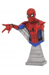 Marvel Spider Man Homecoming: Spider Man (Web Glider Version) Resin Bust