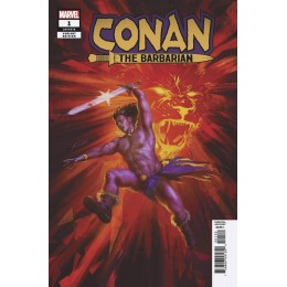 Conan The Barbarian #1 (Fagan Variant)