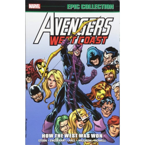 Avengers West Coast Epic Collection: How The West Was Won TP (Marvel)