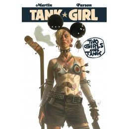 Tank Girl: Two Girls One Tank TP (Titan)