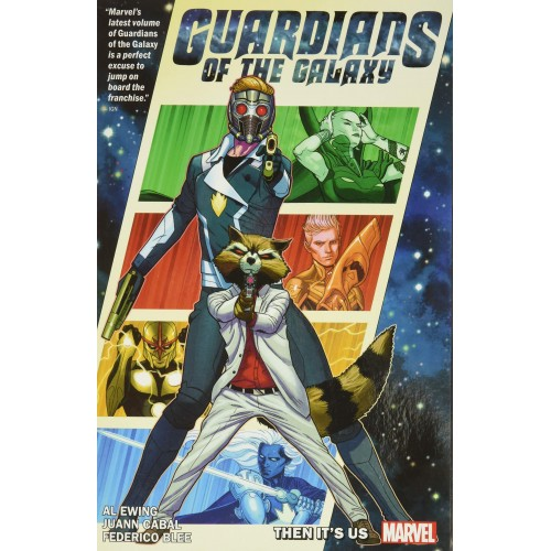 Guardians of the Galaxy by Al Ewing Vol. 1: It's On Us TP