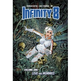 Infinity 8 Vol.1: Love And Mummies HC (Lion Forge)