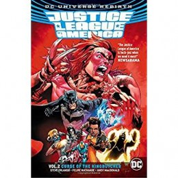 Justice League of America Rebirth Vol 2: Curse of the Kingbutcher TPB (DC)