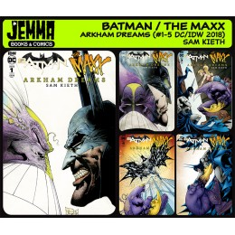 Batman The Maxx Arkham Dreams (2018 DC/IDW)
