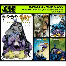 Batman The Maxx Arkham Dreams (2018 DC/IDW) VARIANT COVERS