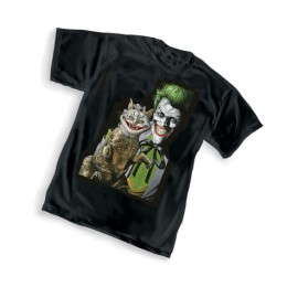 Joker Purfect Crime by Brian Bolland T-Shirt (M,L.XL)