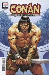 CONAN THE BARBARIAN #1 1:10 JOHN CASSADAY VARIANT MARVEL