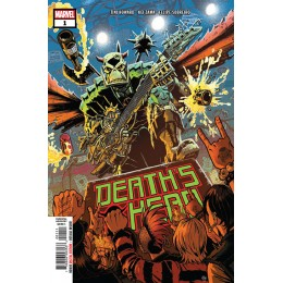 DEATHS HEAD #1-4 COMPLETE MINI SERIES (Marvel 2019)