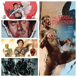 DEATH TO THE ARMY OF DARKNESS COMPLETE SET