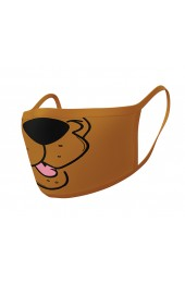 Scooby Doo Pyramid Face Mask (2 Pieces)
