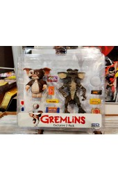 HARD TO FIND Gremlins Action Figure exclusive 2-Pack Gizmo & Stripe (NECA)