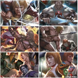 He-Man and the Masters of the Multiverse (2019 DC) Complete Set