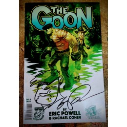 Goon #1 Eric Powell Signed and Sketched Comic Book