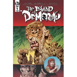 HG WELLS THE ISLAND OF DR MOREAU COMPLETE SET (IDW 2019)